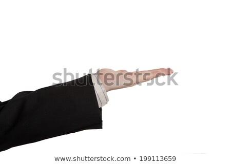 Masculino mão palma escritório comunicação trabalho Foto stock © mizar_21984