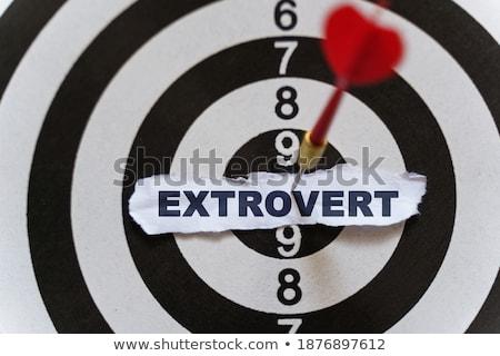 Anxiety - Arrows Hit in Target. Stock photo © tashatuvango