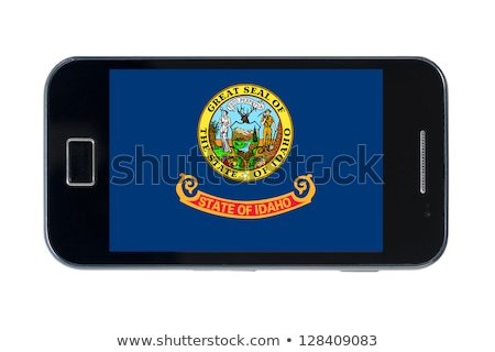 smartphone flag of american state of idaho    Stock photo © vepar5