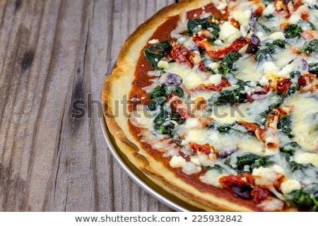 İtalyan · gıda · malzemeler · makarna · domates · otlar · baharatlar - stok fotoğraf © tannjuska