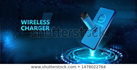 charging process Stock photo © flipfine
