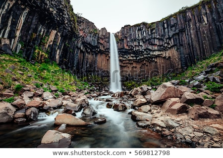 scénique · vue · dramatique · paysage · eau · nature - photo stock © 1Tomm