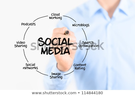 Online Marketing Planning Scheme Stock photo © stevanovicigor