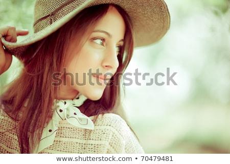 美 少女 ファッション ショット 外 女性 ストックフォト © Kor