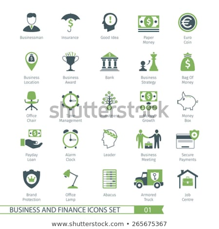 business set 01 stock photo © genestro