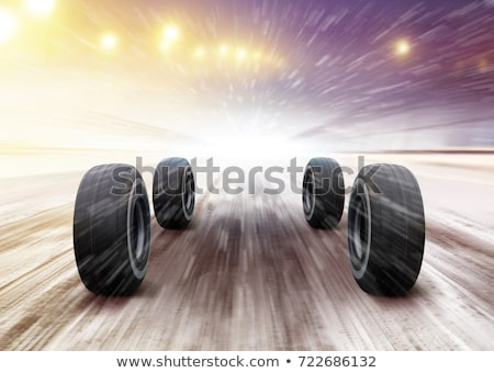 wheels rush on the road Stock photo © ssuaphoto