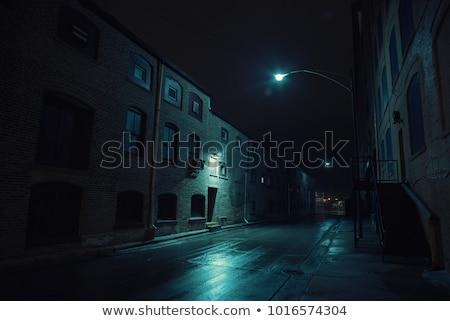 city industrial scenic stock photo © elwynn