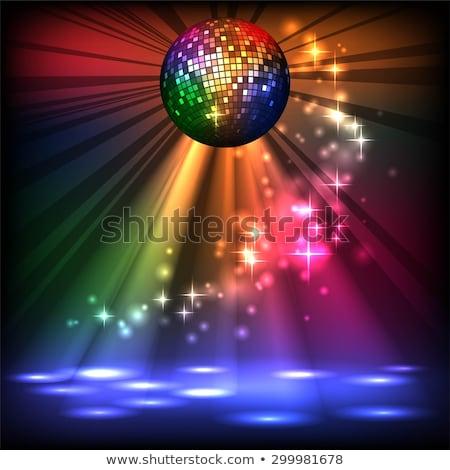 sexy · disco · meisje · poster · vrouw · partij - stockfoto © sonya_illustrations