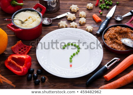 Healthy Eating question Stock photo © Lightsource