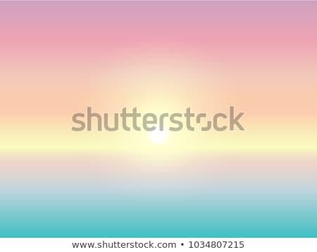 Zamazany banner nowoczesne wektora plaży Zdjęcia stock © vectorikart