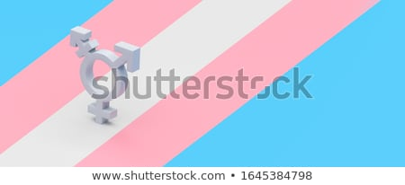 トランスジェンダー アイコン 白 セックス ゲイ 文化 ストックフォト © tkacchuk