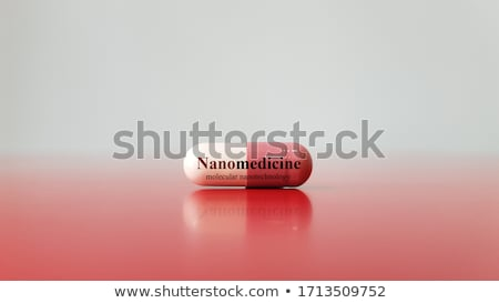 Nanotechnológia orvosi terápia gyógyszer csoport mikroszkopikus Stock fotó © Lightsource