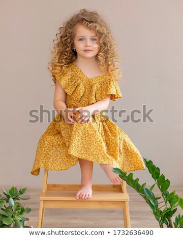 portrait · sexy · blond · modèle · ondulés · cheveux · longs - photo stock © victoria_andreas