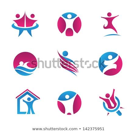Egyezmény logo illusztráció különböző dizájnok üzlet Stock fotó © Morphart