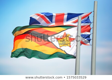 United Kingdom and Zimbabwe Flags Stock photo © Istanbul2009
