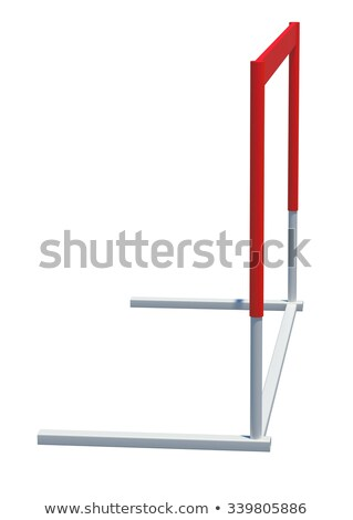 Treadmill barrier, side view Stock photo © cherezoff