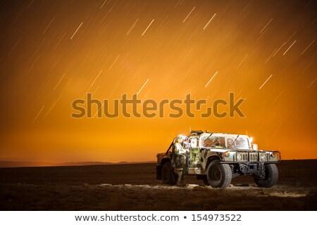 humvee in desert Stock photo © Paha_L