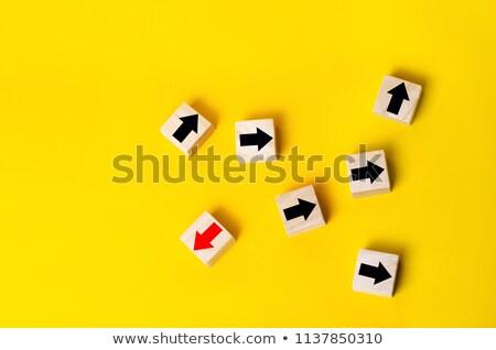 Divergent Arrows Stock photo © make