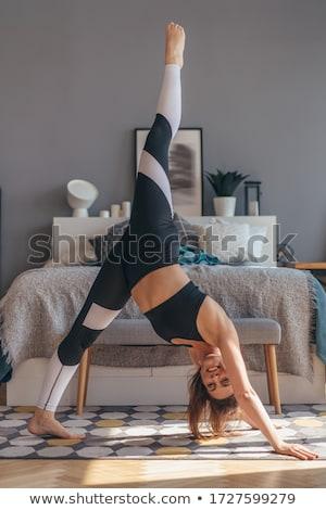 Beine BH Bild schönen rot Frauen Stock foto © dmitroza