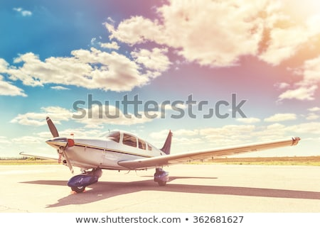 пропеллер небе экспериментального белый фон синий Сток-фото © bluering