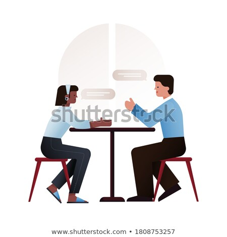 Two Asian people Stock photo © bluering