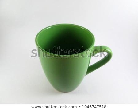 Stock photo: empty green mug