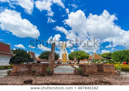 görüntü · Buda · tarihsel · park · Tayland · kilise - stok fotoğraf © searagen