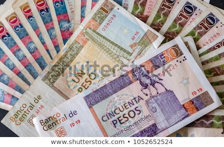 Cuban banknotes and coins on the table. Stock photo © CaptureLight