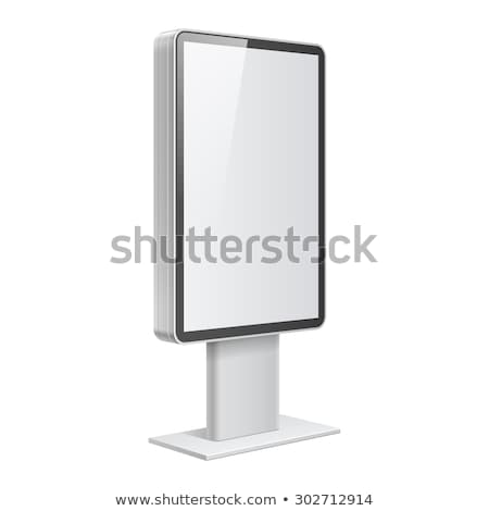 realistic 3d outdoor lightbox advertising stock photo © mediaseller