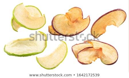 自家製 · リンゴ · チップ · ナッツ · スパイス · 素朴な - ストックフォト © digifoodstock