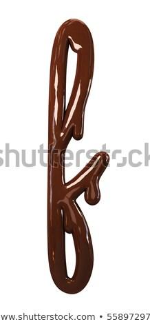 t · betű · fánk · betűtípus · fánk · ábécé · édes - stock fotó © maryvalery