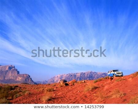Tekerlek sürmek rom çöl Ürdün keşfetmek Stok fotoğraf © FreeProd
