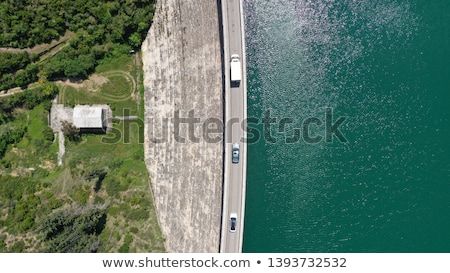 lake dam  Stock photo © Antonio-S