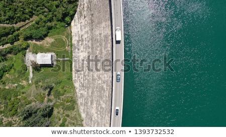 lake dam stock photo © antonio-s