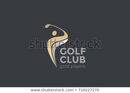 Golf Logo Template vector illustration Stock photo © atabik2