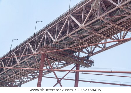 Bridge Grating over river Stock photo © bobkeenan