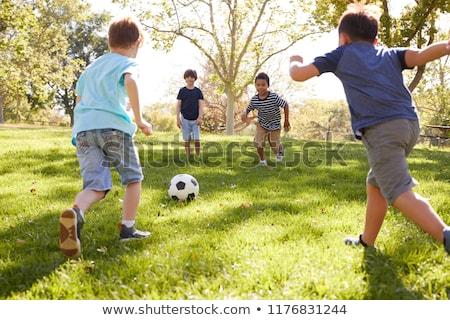 子供 · 行使 · 実例 · 行使 · 子 · 学生 - ストックフォト © colematt