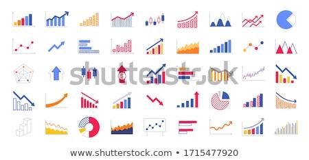 模板 圖表 進步 介紹 錢 抽象 商業照片 © antoshkaforever