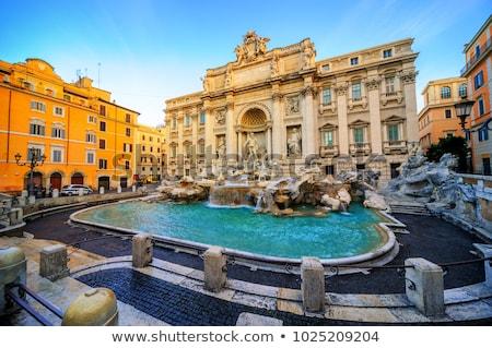 Фонтан · Треви · известный · ориентир · Рим · фонтан · Мир - Сток-фото © hsfelix