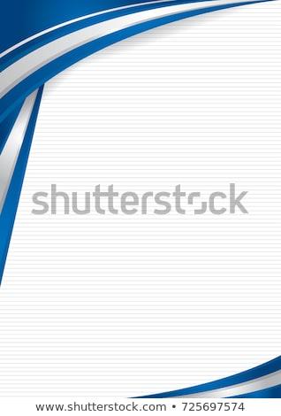 Izrael zászló tér papír illusztráció terv Stock fotó © colematt