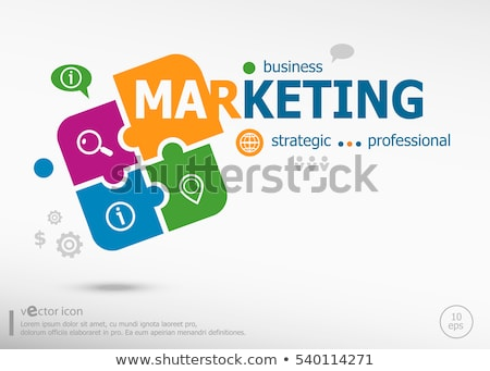 Shopping Professional Analyze and Strategic Vector Stock photo © robuart