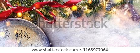 Рождества Новый год конфетти Сток-фото © olehsvetiukha