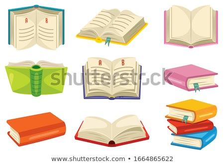 Alfabeto libro lectura libro de texto escuela suministrar Foto stock © robuart