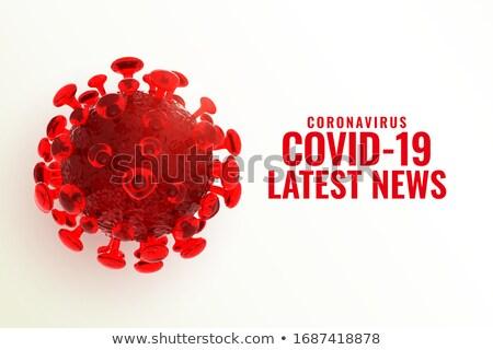 коронавирус Новости здоровья науки ячейку чрезвычайных Сток-фото © SArts