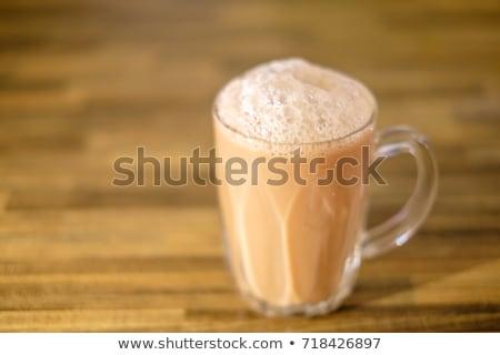 asian pulled milk tea Stock photo © zkruger