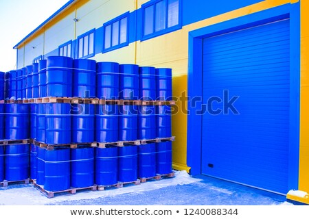 Finished goods tanks Stock photo © zybr78