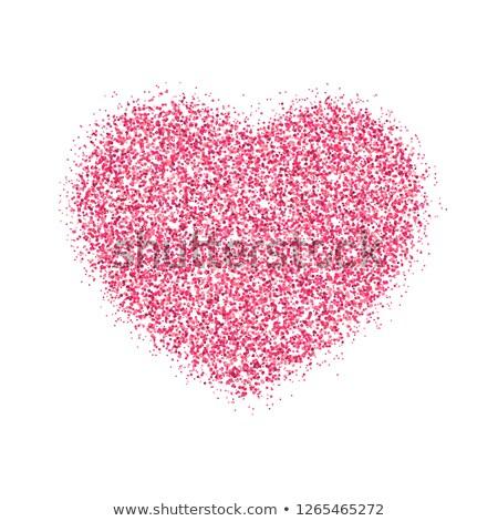 エレガントな · バレンタイン · 心 · eps · ベクトル - ストックフォト © beholdereye