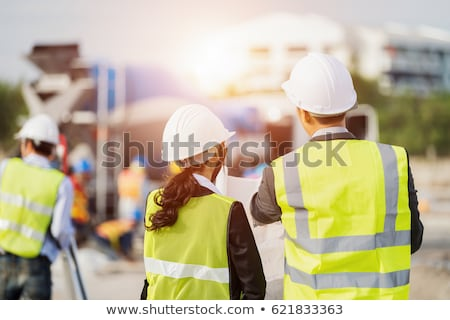An inspector inspecting a building site Stock photo © photography33