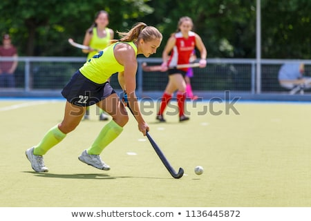 Field hockey Stock photo © abdulsatarid