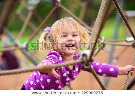 giocare · cute · bambina · ragazza · bambino · estate - foto d'archivio © photography33